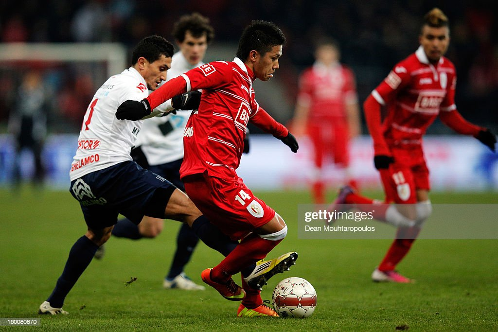 Standard de Liege vs KV Kortrijk - Jupiler League : ニュース写真
