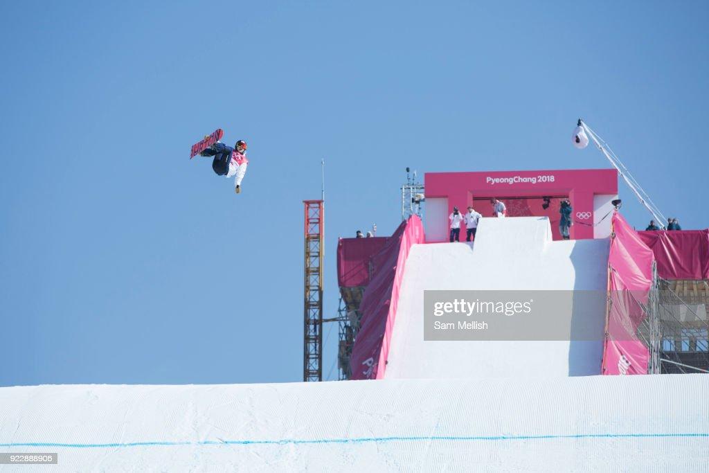 Pyeongchang 2018 Winter Olympics Women's Snowboard Big Air Final : News Photo