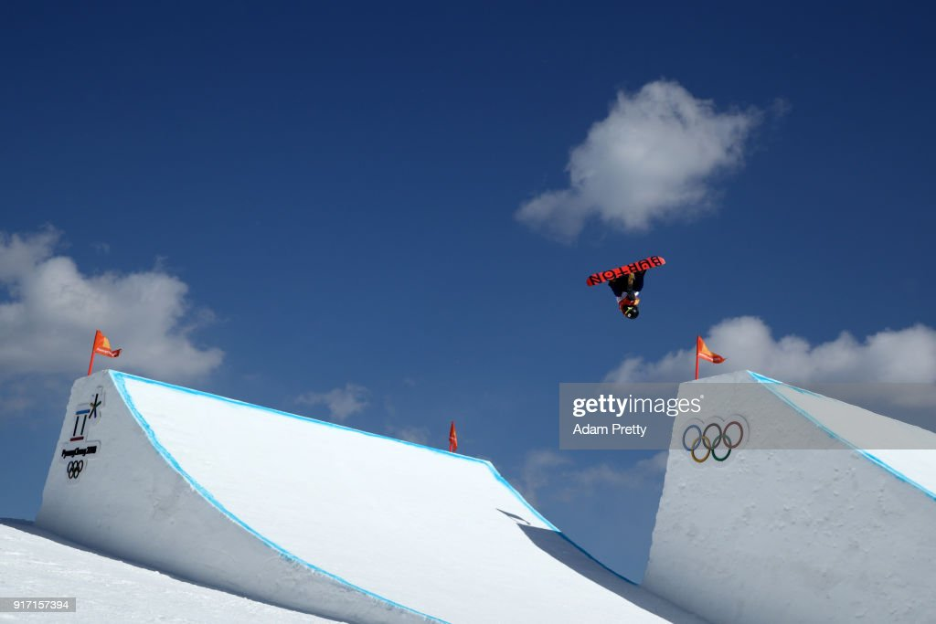 Yuka Fujimori of Japan competes in the Snowboard Ladies' Slopestyle Final on day three of the PyeongChang 2018 Winter Olympic Games at Phoenix Snow Park on February 12, 2018 in Pyeongchang-gun, South Korea.