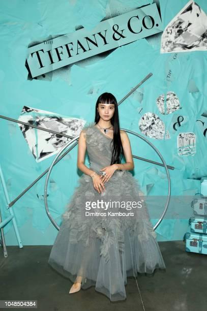 ed46672895f9 Yuka Mannami attends Tiffany Co Celebrates 2018 Tiffany Blue Book Collection  THE FOUR SEASONS OF TIFFANY