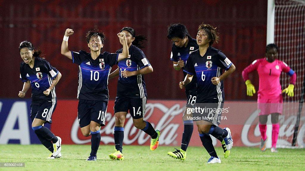 Japan v Nigeria: Group B - FIFA U-20 Women's World Cup Papua New Guinea 2016 : News Photo