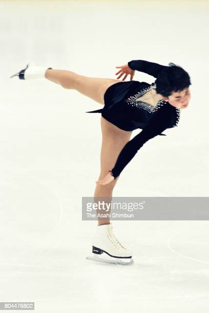 Yuka Sato competes in the Women's Singles Free Program during the 62nd All Japan Figure Skating Championships at Shin Yokohama Prince Hotel Skate...