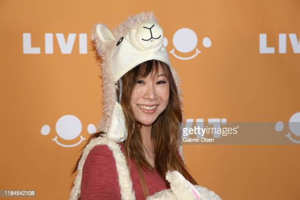 Yuka Suzuki attends Trip 'R' Treat with LIVIT LA's Largest Live Streaming Competition on October 30 2019 in Hollywood California