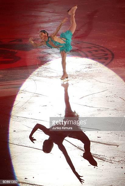 Yukari Nakano of Japan performs in the Gala Exhibition on the day three of ISU Grand Prix of Figure Skating NHK Trophy at Big Hat on November 8 2009...