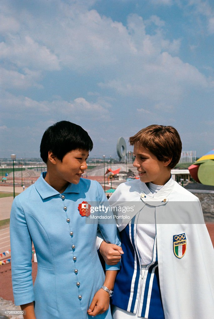 Yukari takemoto arm in arm with novella calligaris pictures getty yukari takemoto and novella calligaris both swimmers get to know each other inside thecheapjerseys Choice Image