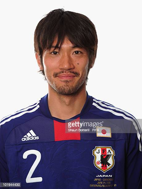 Yuki Abe of Japan poses during the official FIFA World Cup 2010 portrait session on June 9 2010 in George South Africa