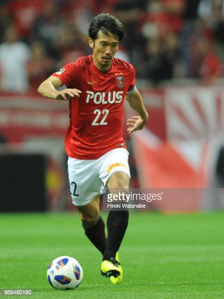 Yuki Abe of Urawa Red Diamonds in action during the JLeague Levain Cup Group C match between Urawa Red Diamonds and Sanfrecce Hiroshima at Saitama...