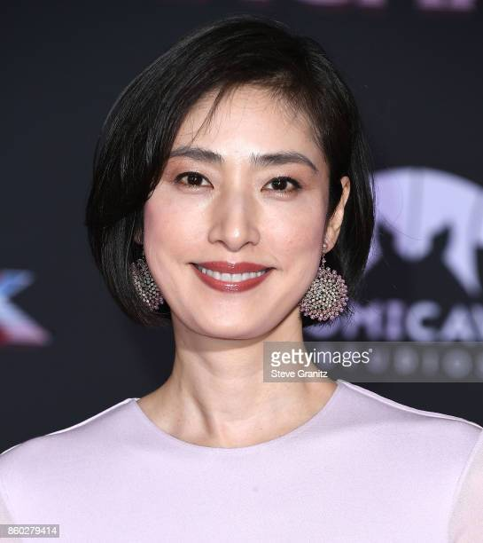 Yuki Amami arrives at the Premiere Of Disney And Marvel's 'Thor Ragnarok' on October 10 2017 in Los Angeles California