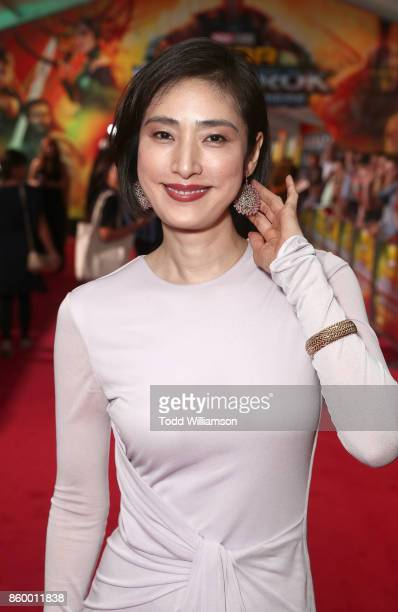 Yuki Amami attends the premiere of Disney And Marvel's 'Thor Ragnarok' on October 10 2017 in Los Angeles California