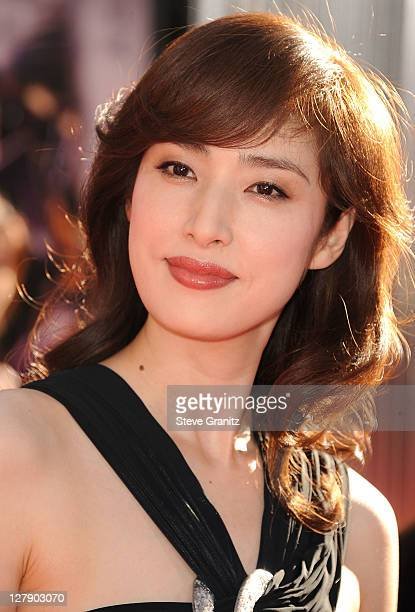 Yuki Amami attends the 'Real Steel' Los Angeles Premiere at Gibson Amphitheatre on October 2 2011 in Universal City California