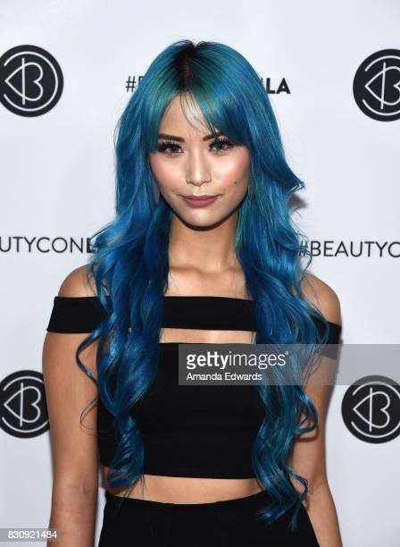 Yuki Bomb attends the 5th Annual Beautycon Festival Los Angeles at the Los Angeles Convention Center on August 12 2017 in Los Angeles California