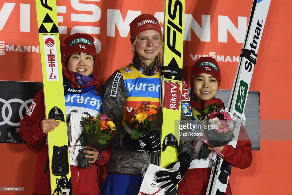 FIS Ski Jumping Women's World Cup Zao - Day 4 : News Photo