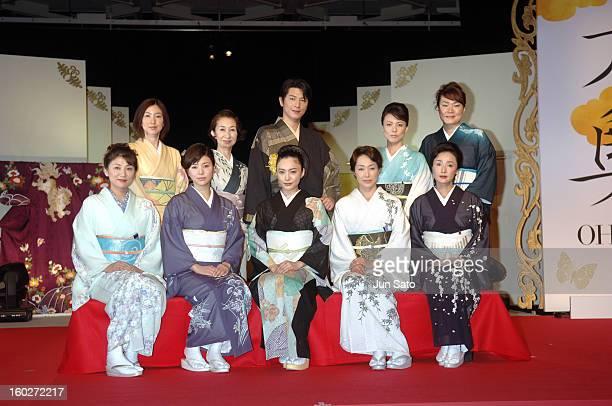 Yuki Matsushita Haruka Igawa Yukie Nakama Reiko Takashima Yuko Asano Kaori Yamaguchi Machiko Washio Mitsuhiro Oikawa Kaoru Sugita and Maki Kubota