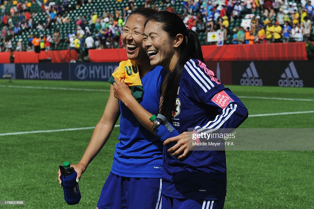 Australia v Japan: Quarter Final - FIFA Women's World Cup 2015 : News Photo