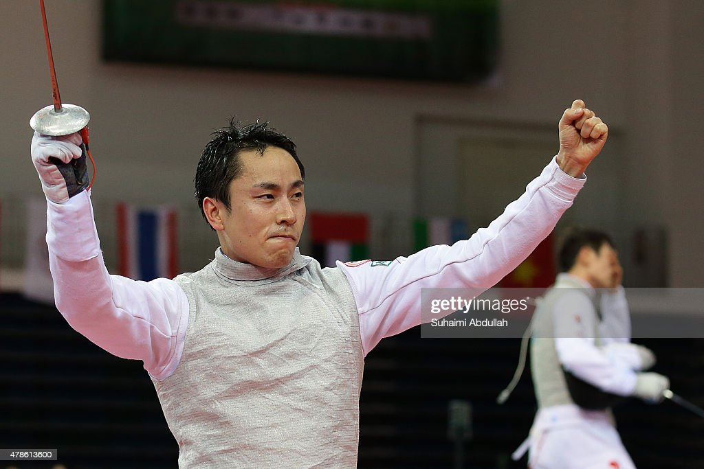 2015 Asian Fencing Championships : News Photo