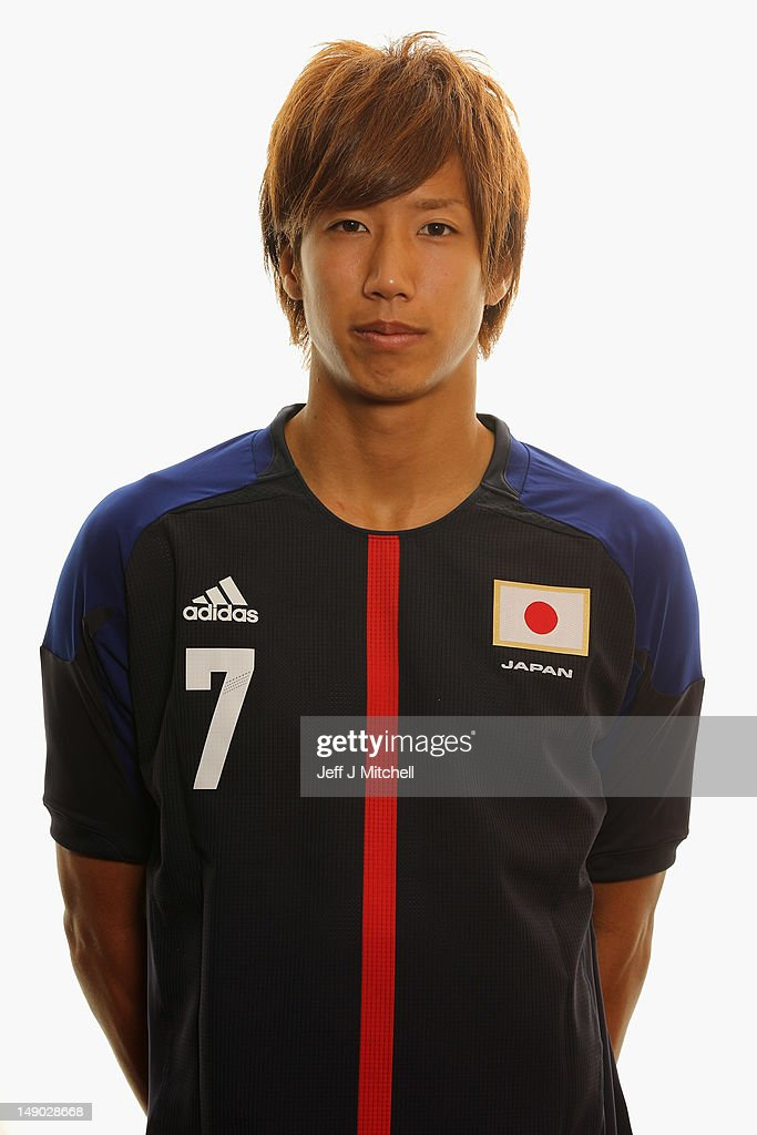 Japan Men's Official Olympic Football Team Portraits