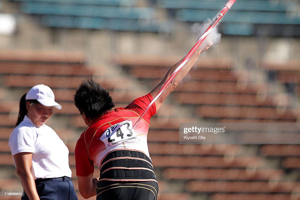 19th Asian Athletics Championships - Day 4 : ニュース写真