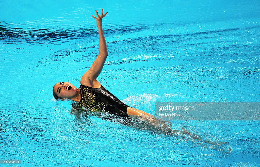 Synchronised Swimming - 16th FINA World Championships: Day One