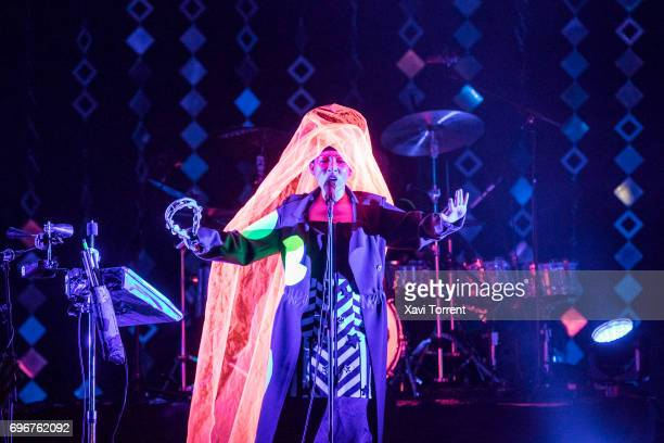 Yukimi Nagano of Little Dragon performs in concert during day 3 of Sonar 2017 on June 16 2017 in Barcelona Spain