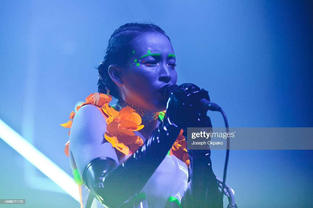Little Dragon Perform At Brixton Academy In London : News Photo