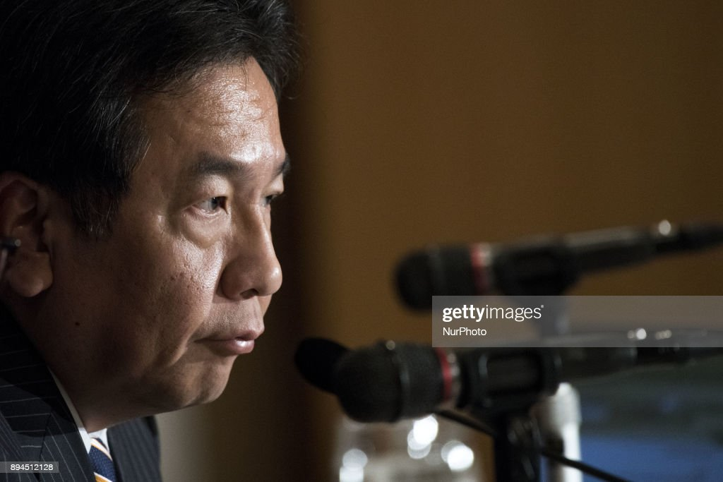 Press Conference of Yukio Edano, Leader of The Constitutional Democratic Party of Japan