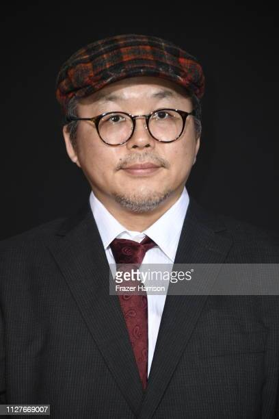 Yukito Kishiro attends the premiere of 20th Century Fox's Alita Battle Angel at Westwood Regency Theater on February 05 2019 in Los Angeles California