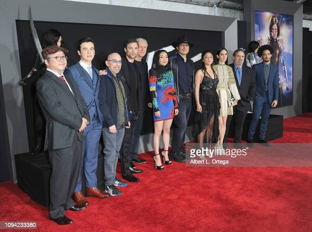 Yukito Kishiro Keean Johnson Jackie Earle Haley Ed Skrein James Cameron Lana Condor Robert Rodriguez Rosa Salazar Jennifer Connelly Jon Landau and...