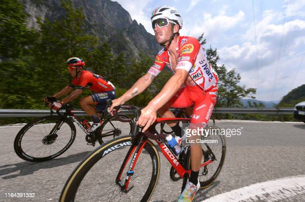 Yukiya Arashiro of Japan and Team Bahrain-Merida / Manuel Belletti of Italy and Team Androni Giocattoli-Sidermec / during the 2nd Adriatica Ionica...