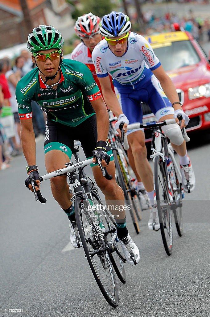 Yukiya Arashiro Of Japan Riding For Europcar Leads The Breakaway News Photo Getty Images