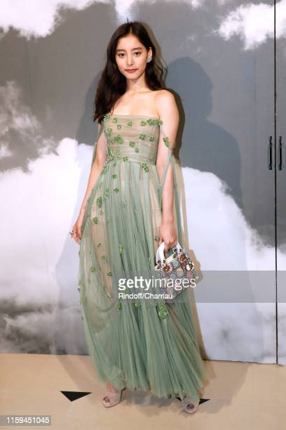Yuko Araki attends the Christian Dior Haute Couture Fall/Winter 2019 2020 show as part of Paris Fashion Week on July 01, 2019 in Paris, France.