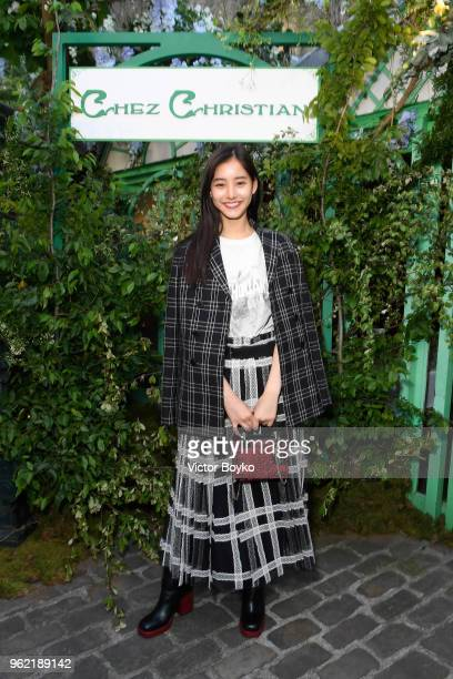 Yuko Araki attends the Welcome Dinner of the Christian Dior Couture S/S 2019 Cruise Collection on May 24 2018 in Paris France