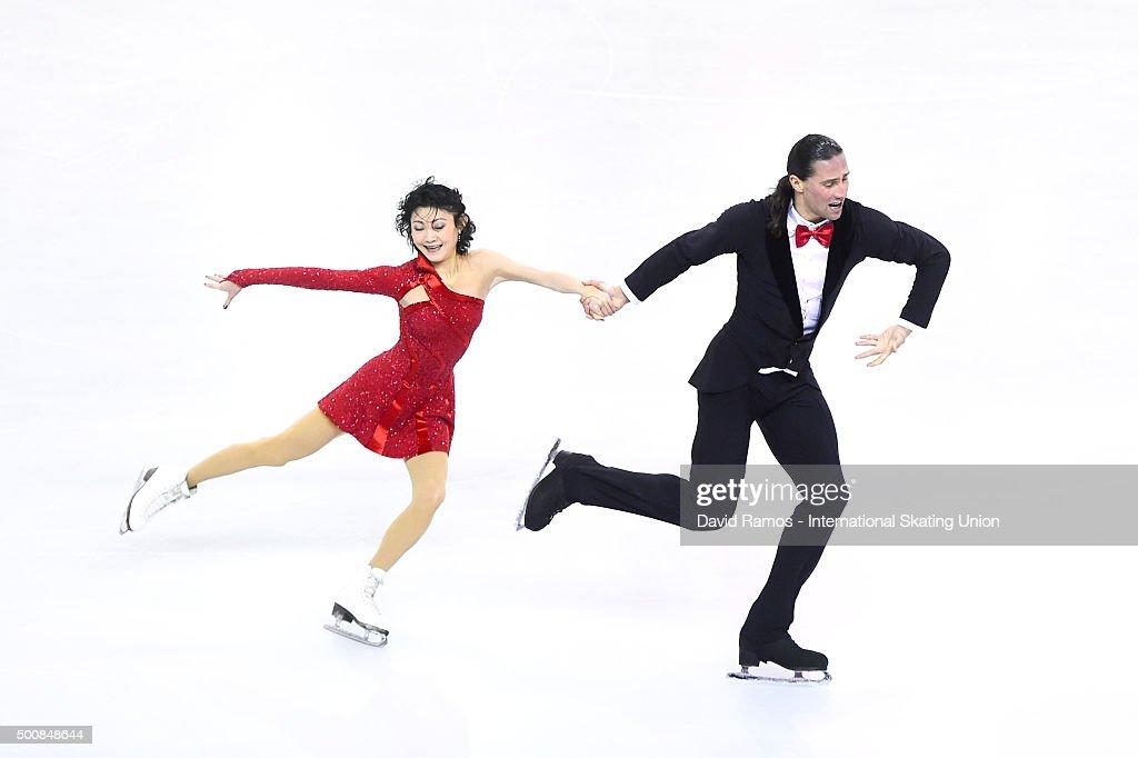 ISU Junior & Senior Grand Prix of Figure Skating Final 2015/2016 Final Barcelona - Day 1 : News Photo