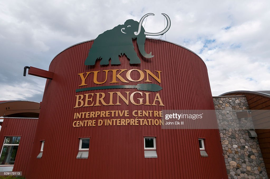 Yukon Beringia Interpretive Center : Stock Photo