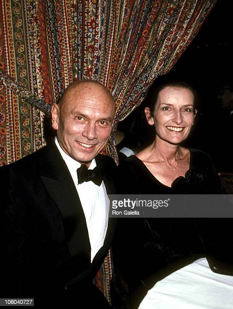 Yul Brynner and Wife Jacqueline de Croisset during Party to Launch New Harrah's Casino in Atlantic City at Tavern on the Green in New York City, New...