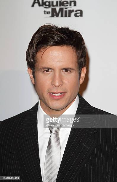 Yul Burkle attends screening of Telemundo's 'Alguien Te Mira' at The Biltmore Hotel on September 7 2010 in Coral Gables Florida