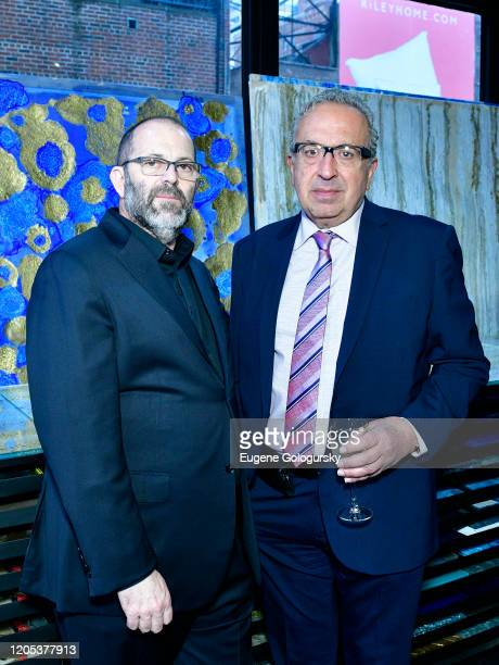 Yuli Gorbachincky and Jack Chehebar attend the Andrea Bocelli Foundation Lillian Gorbachincky Present First Annual Luncheon at AD Building on...