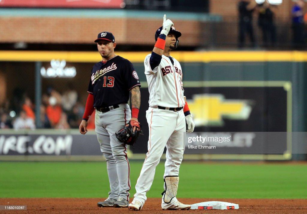 World Series - Washington Nationals v Houston Astros - Game Two : News Photo