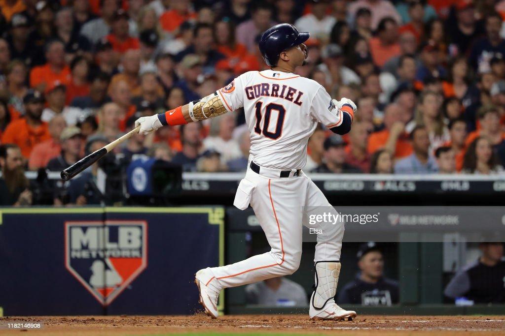 League Championship Series - New York Yankees v Houston Astros - Game Six : Nachrichtenfoto