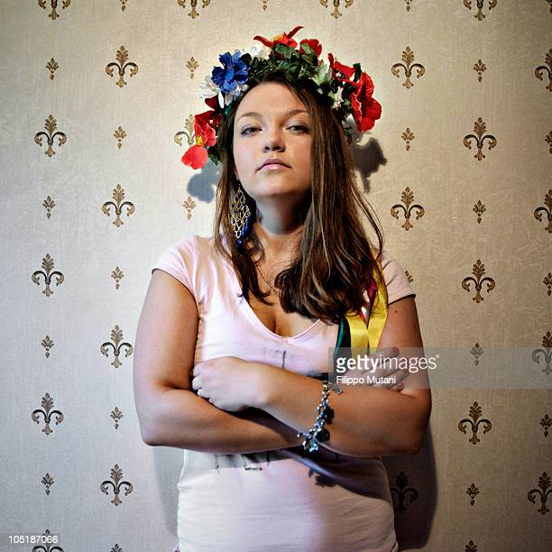 Yulia activist of Femen FEMEN is a social movement and provocative women's movement in Ukraine founded in 2008 by Anna Hutsol The organisation became...