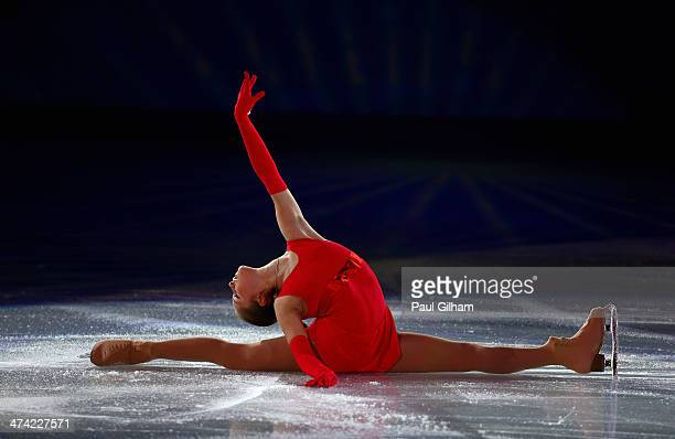 Yulia Lipnitskaia of Russia performs during the Figure Skating Exhibition Gala at Iceberg Skating Palace on February 22 2014 in Sochi