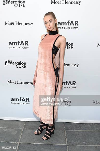 Yulia Rose attends the amfAR generationCure Solstice 2016 on June 21 2016 in New York City
