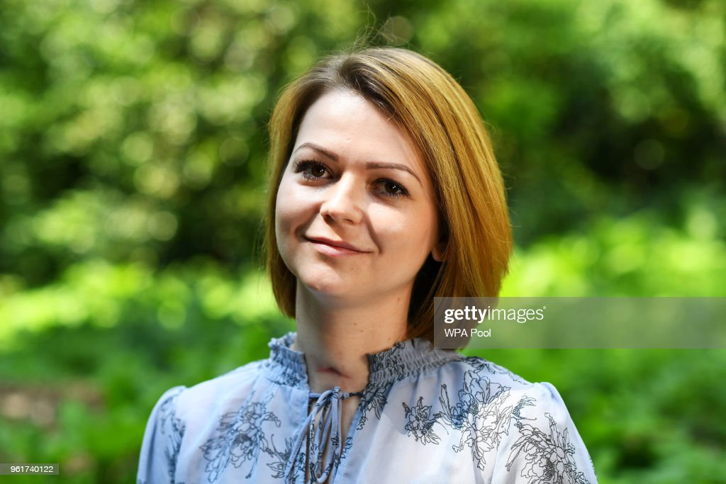 Yulia Skripal Pictured For First Time Since Her Novichok Poisoning