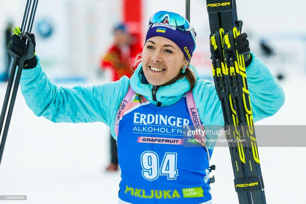 IBU Biathlon World Cup - Women's 15km : News Photo