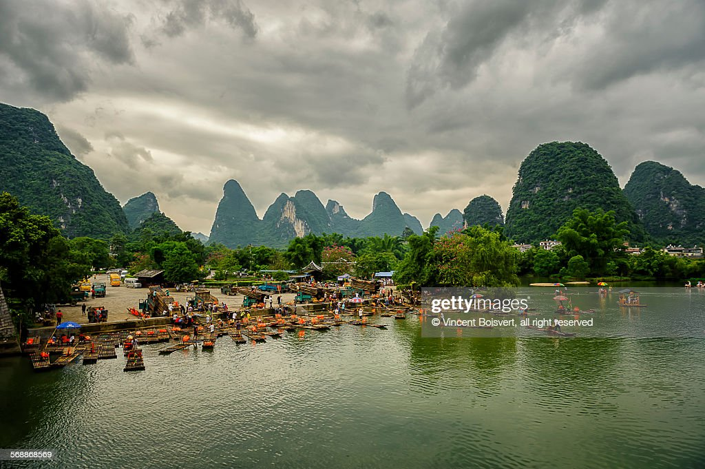 Yulong River : Stock Photo