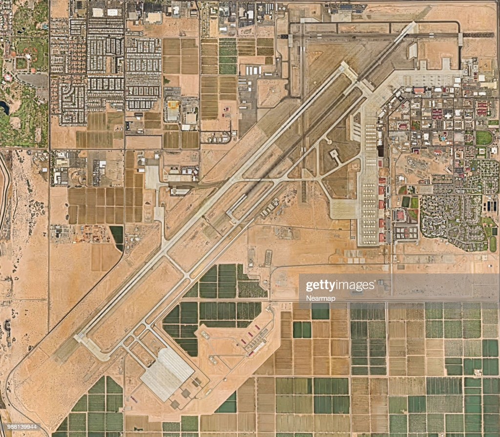 Yuma International Airport Arizona Usa Stock-Foto - Getty Images