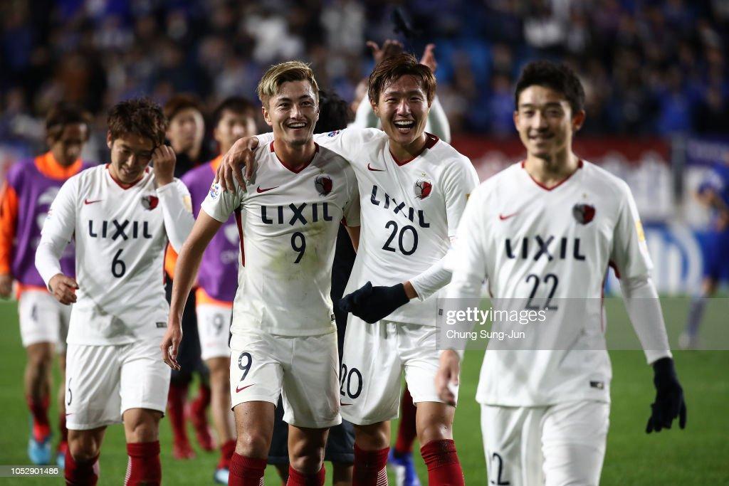 Suwon Samsung Bluewings v Kashima Antlers - AFC Champions League Semi Final 2nd Leg : News Photo