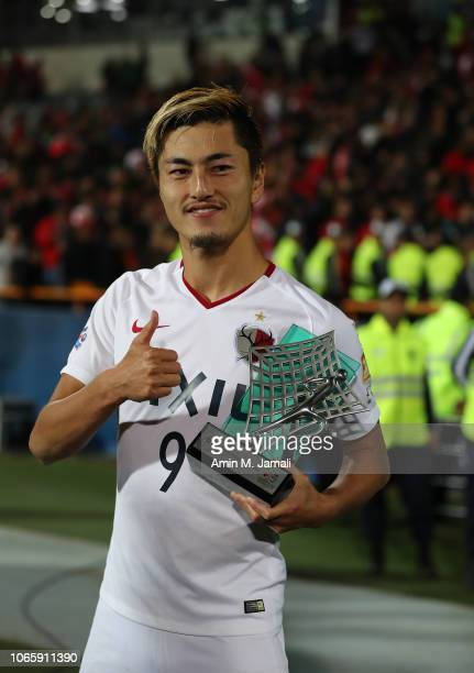 Yuma Suzuki looks on after the AFC Champions League final second leg match between Persepolis and Kashima Antlers at Azadi Stadium on November 10,...