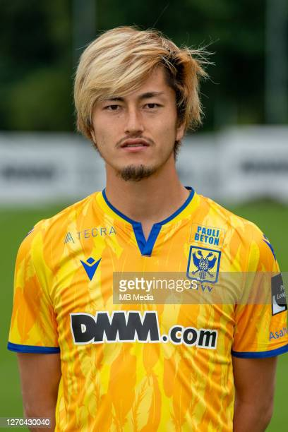 Yuma Suzuki of STVV during the 2020 - 2021 season photo shoot of STVV on July 27, 2020 in Sint-Truiden, Belgium.