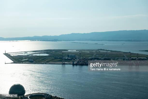 yumeshima island in osaka - 大阪 ストックフォトと画像