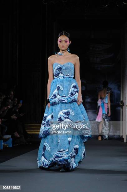 Yumi Katsura fashion show at Paris Fashion Week Man F/W 201819